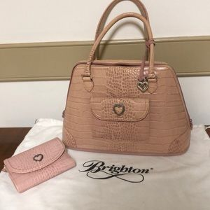 Brighton Lucille dome bag and wallet